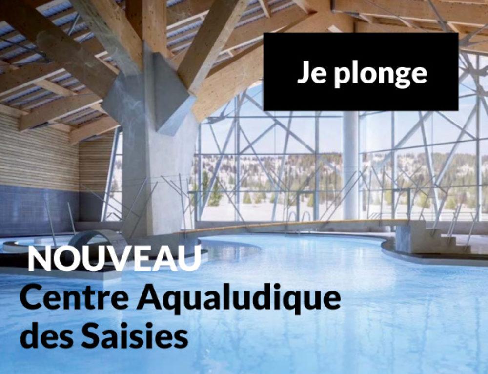 Le centre aquasportif des Saisies